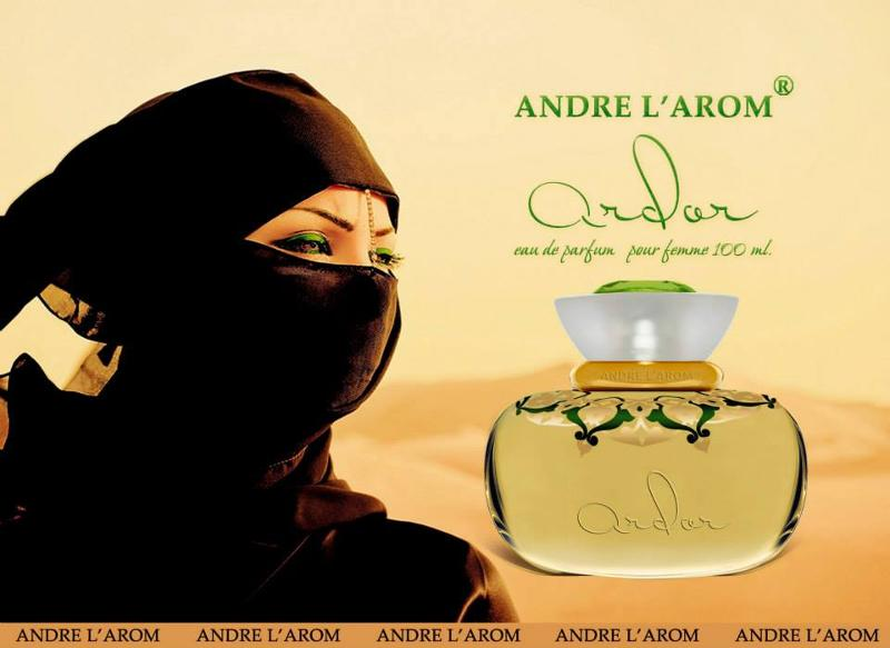 Eau de perfume for women from TM Andre L`arome