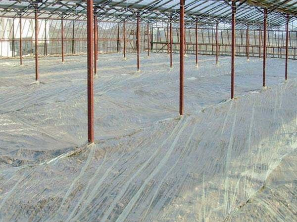 3-layered film produced with a special formulas for enhancing the efficiency of the solarization process, the decontamination of the soil from damaging organisms increasing the temperature of the soil