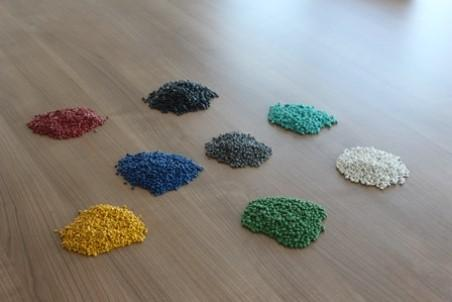 We are producing PP and PE granules.