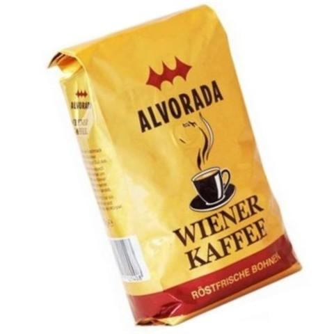 Alvorada Wiener Kaffee consist of specially selected sorts of Arabica and Robusta. This coffee is endowed with creamy flavor, soft bitterness and rich aroma of grain. Coffee beans are light roasted.