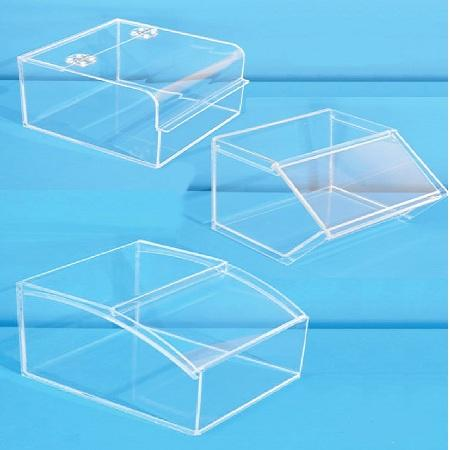 Made of acrylic boxes for food storage or bulk food sales