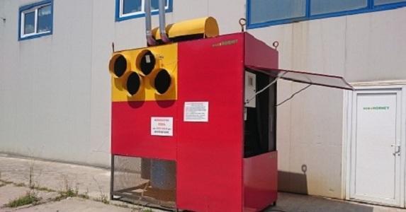 Pellet & agro-pellet based hot air generator 750 kw