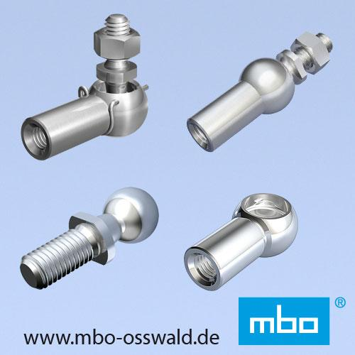 Angle joints / Ball sockets / Ball studs / Axial joints