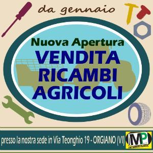 VENDITA RICAMBI AGRICOLI