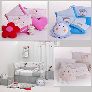 Babyroom Decoration: all for baby bed, bakets, curtains etc