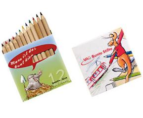 Coloured pencils are for everyone who like colour in their lives – not just children. They are available in a natural or lacquered finish, beautifully and practically packed in long or short boxes.
