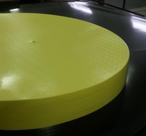 Produkujemy również zatyczki do rur. Średnice od 608 do 1016 i większe.