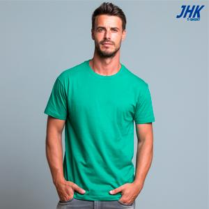 TSRA150: Camiseta básica para hombre de manga corta, 100% algodón.