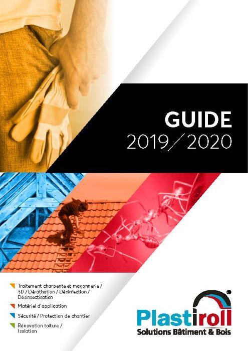 Catalogue PLASTIROLL Solutions Bâtiment - 2020