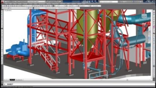Modelo 3D a partir de la nube de puntos obtenida con el Escáner Láser 3D.