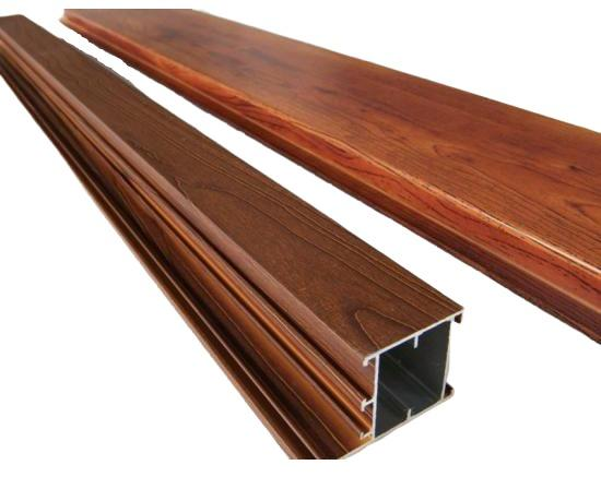 Wooden Pattern Aluminium Profiles