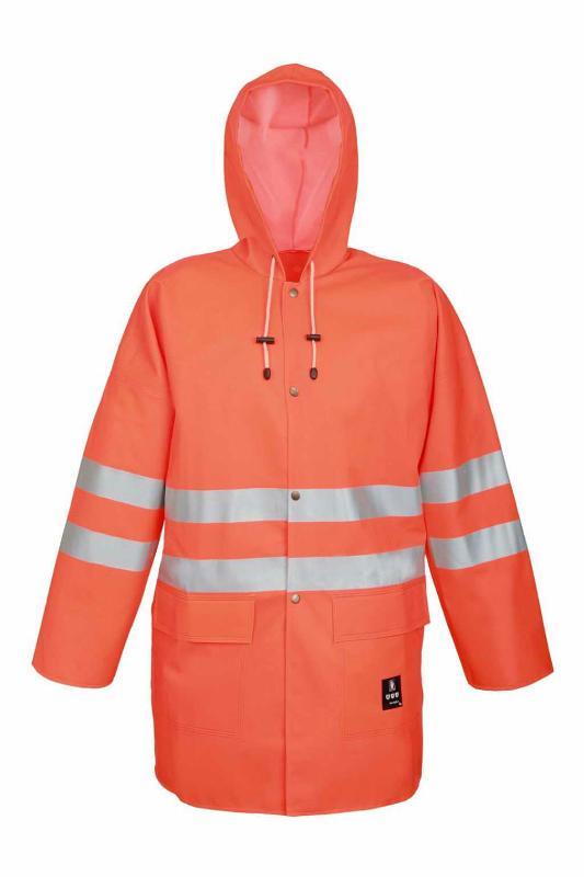Waterproof warning clothing