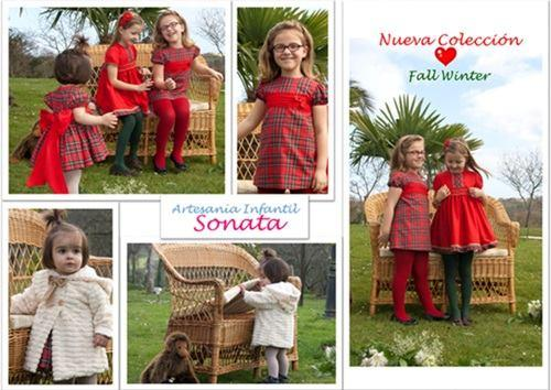 Red Tartan Dresses for Fall Winter Collection.