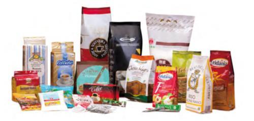 Beutelauswahl Lebensmittel, Kaffee, Tee