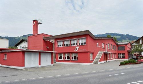 Produktionsstandort in Buochs. Seit 1897