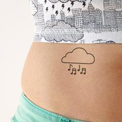 Temporary tattoos custom