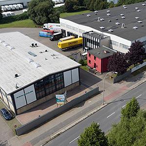 AXRO Firmenzentrale und Logistikzentrum.