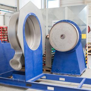 MEIERLING ist Spezialist in der Konstruktion und beim Bau von Industrieventilatoren