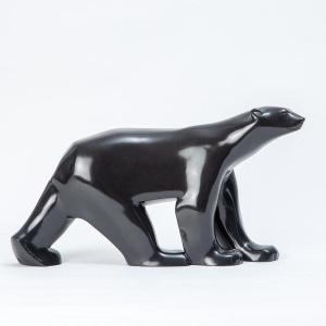 François Pompon - Ours polaire en bronze