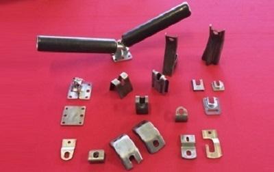 Numerose tipologie di rulli per il nastro trasportatore.