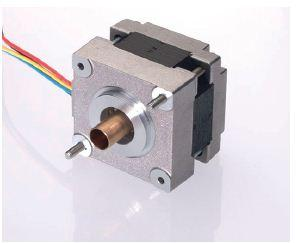 Stepping Motors: MICROSTEP Serie SHS 39/200 – Hollow shaft Step Angle: 1,8° Number of Phases: 2 Motor Size: 39 mm Motor Length: 28 / 32 / 44 mm