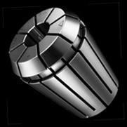 Hohe Rundlaufgenauigkeit und grosser Spannbereich, mit 16-Schlitz-Design Kombination von kurzer Bauart und höchster Präzision Breite Produktepalette: Grösse ER 8 bis ER 50;