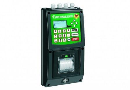 Consola para el control y acceso de los operadores al suministro de los fluidos, pudiendo enlazar controlar con una sola unidad hasta 12 puntos de suministro
