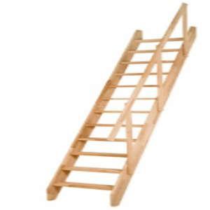 Olymp mit Holzhandlauf