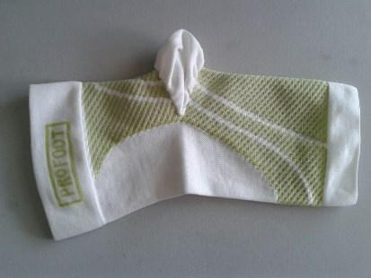 ankle support-green mixed white