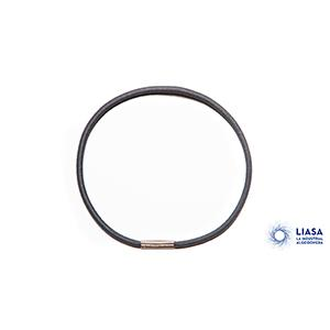 The Loop Metal Clasp allows to join the cord and elastic cord endings. http://www.laindustrialalgodonera.com/en/ending/circle-metal-end/