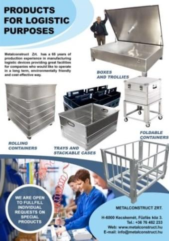 Available with GMC (food and medical industry) certification