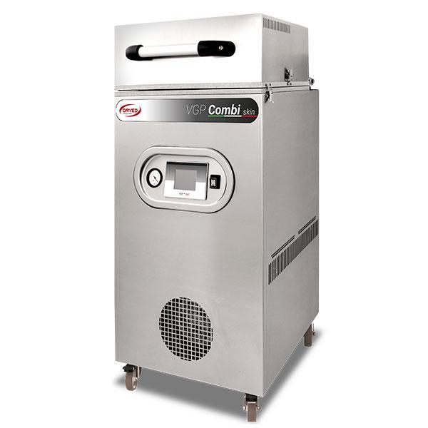 Doble función : termosellado skin y termosellado con vacio y en atmosfera m.