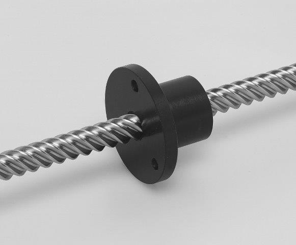 The high-Helix lead screws with Helix up to 6x Diameter provide for max. moving Speeds at law rotational Speeds or efficient conversion of linear to Rotary movements.