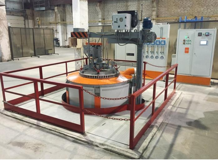 Carburizing Pit-type Furnace for steel, model СШЦМ-8.26/10