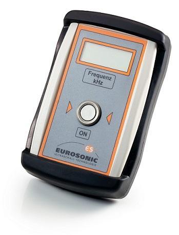 Für berührungslose Frequenzmessung an Ultraschallsonotroden im Bereich von 15kHz bis 60kHz
