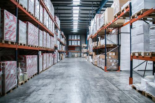 Über 15.000 m² Lagerfläche