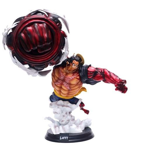 One Piece GK Super Big King Luffy action figure for home decoration