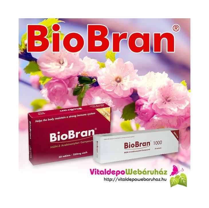 BioBran, a világ egyik vezető immunmoduláns terméke.