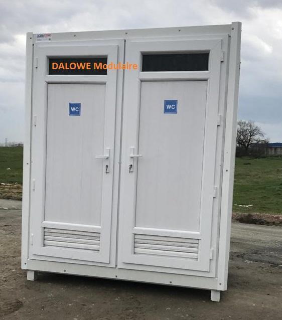 cabine, module bungalow wc douche