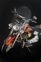 Verchromen von Motorradteilen