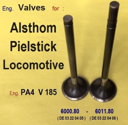 Alsthom-Pielstick Locomotive Valves