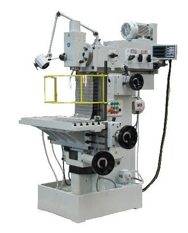 UWF 401 / UWF 405 / UWF 500 in den Verfahrwegen 400x200x400 mm bis 500x400x400 mm.