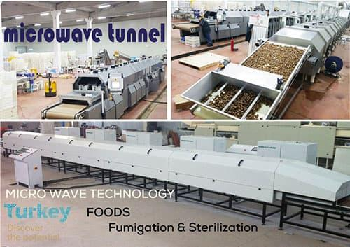 Microwave  successfully  used to heat, drying, pasteurization  and sterilize many food products