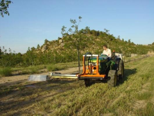 La reducción de costes en mano de obra aplicando herbicida es muy importante