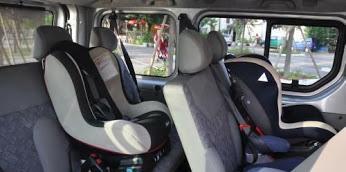 Per la sicurezza dei vostri figli offriamo alzatine e seggiolini nei nostri mezzi il tutto gratuito