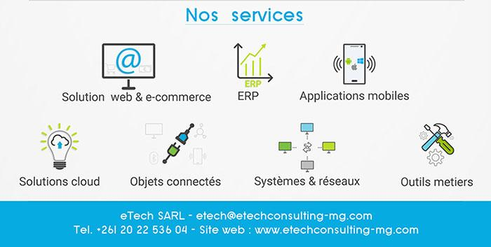 Services et expertises chez eTech
