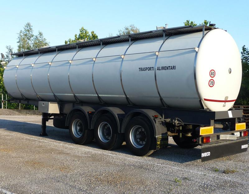 Trasporto liquidi alimentari