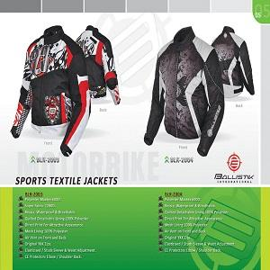 Polyester Maxtex 600D. Ressia, Waterproof & Breathable.  Quilted Detachable Lining 100% Polyester.  Mesh Lining 100% Polyester. Air Vent on Front and Back. Original YKK Zips