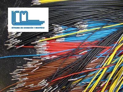 Cableado a medida producido por Integral de Conexión y Montajes, S.L., fabrica, comercializa y distribuye cableado industrial a medida de todo tipo (electrónico, eléctrico y de interconexión)