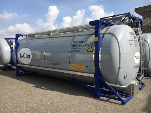 Swap body Tankcontainer 35.000 Liter